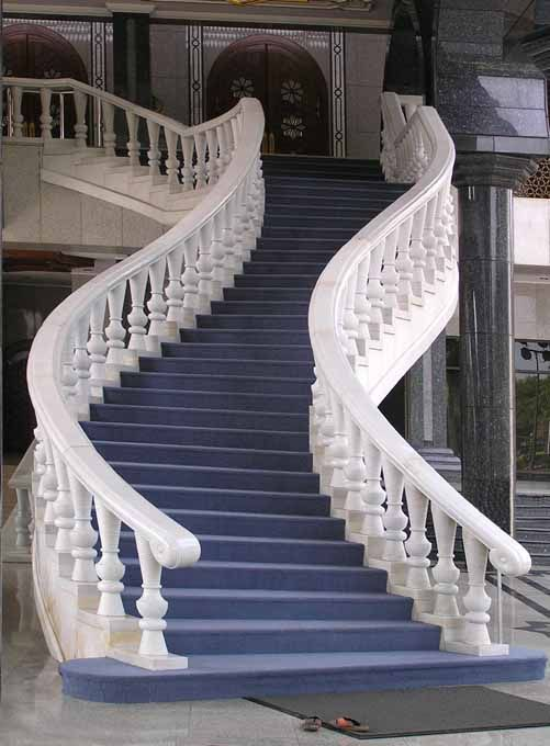 Brunei National Museum Staircase. The Brunei Museum is located approximately five kilometers east of central Bandar Seri Begawan which is the capital and largest city of the Sultanate of Brunei.