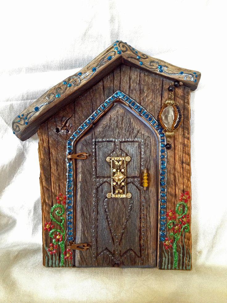 Fairy door batz puertas de hadas pinterest miniature for Fairy front door