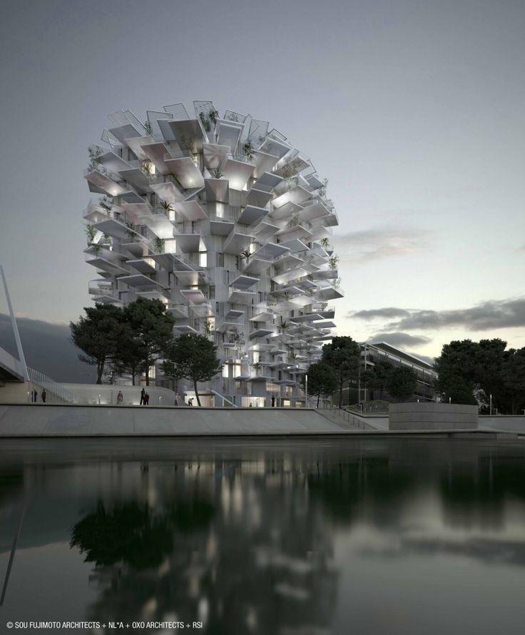 L'arbre blanc est la nouvelle folie architecturale en projet à Montpellier, qui n'en n'est pas à son premier coup d'essai. Au programme, une tour multifonctions de 17 étages et 56 mètres de haut au look insolite avec vue imprenable sur la ville.