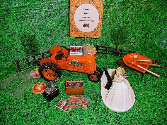 metal tractor wedding cake topper 17 best images about allis chalmers on ash 17269