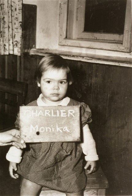"Do You Remember Me?    Monika Charlier    This child was one of millions whose lives were disrupted as a result of the Holocaust and Nazi persecution. If you have any information about this person, please click the ""I remember this child!"" button below and share with us what you know."