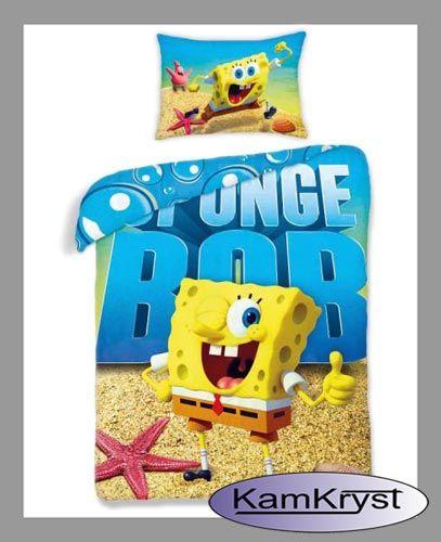 Nowy wzór pościeli dziecięcej ze SpongeBobem - już dostępna #spongebob