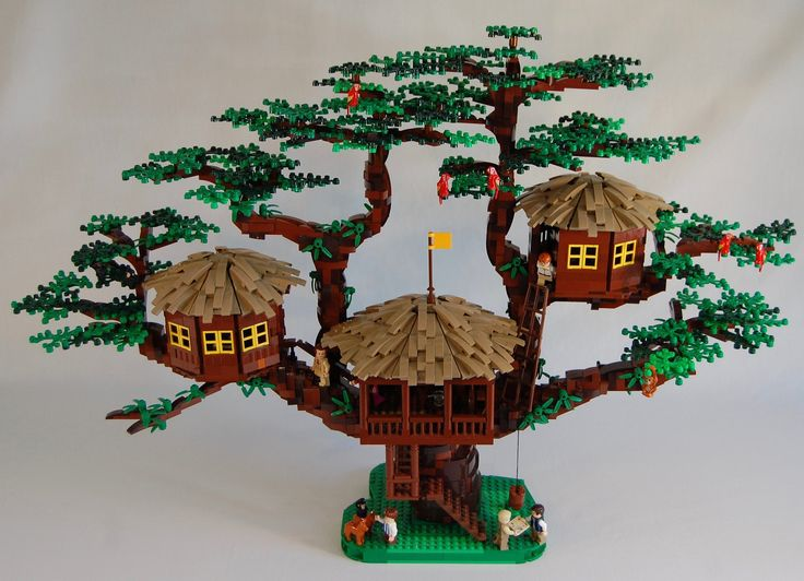 I've dreamed of building the Swiss Family Robinson Treehouse ever since I first saw the movie as a kid.  Now, in Lego, I have!  Here it is: the most iconic treehouse of all time!  Support this project and you can have your very own Falconhurst Treehouse. ideas.lego.com/projects/e299db50-89bc-41e5-a69d-1f51520093e4  Designing this set was an awesome challenge. My first attempt completely fell apart. Three months later, after redesigning everything, I was done with a solid model. ...