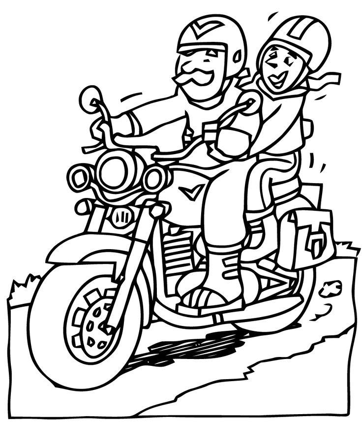 17 best images about colorie les motos on pinterest - Coloriage motos ...