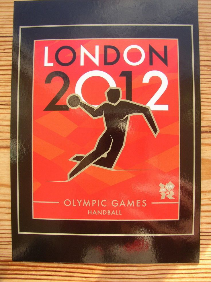 #Postcard london 2012 olympic games #handball official #product summer logo card,  View more on the LINK: 	http://www.zeppy.io/product/gb/2/391610246382/