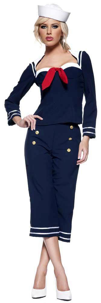 32.99 Womens Ship Mate Sailor Girl Costume Sailor Costumes - Mr. Costumes