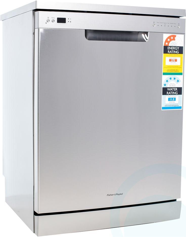 Fisher & Paykel Standard Dishwasher DW60CHX1 Angle View