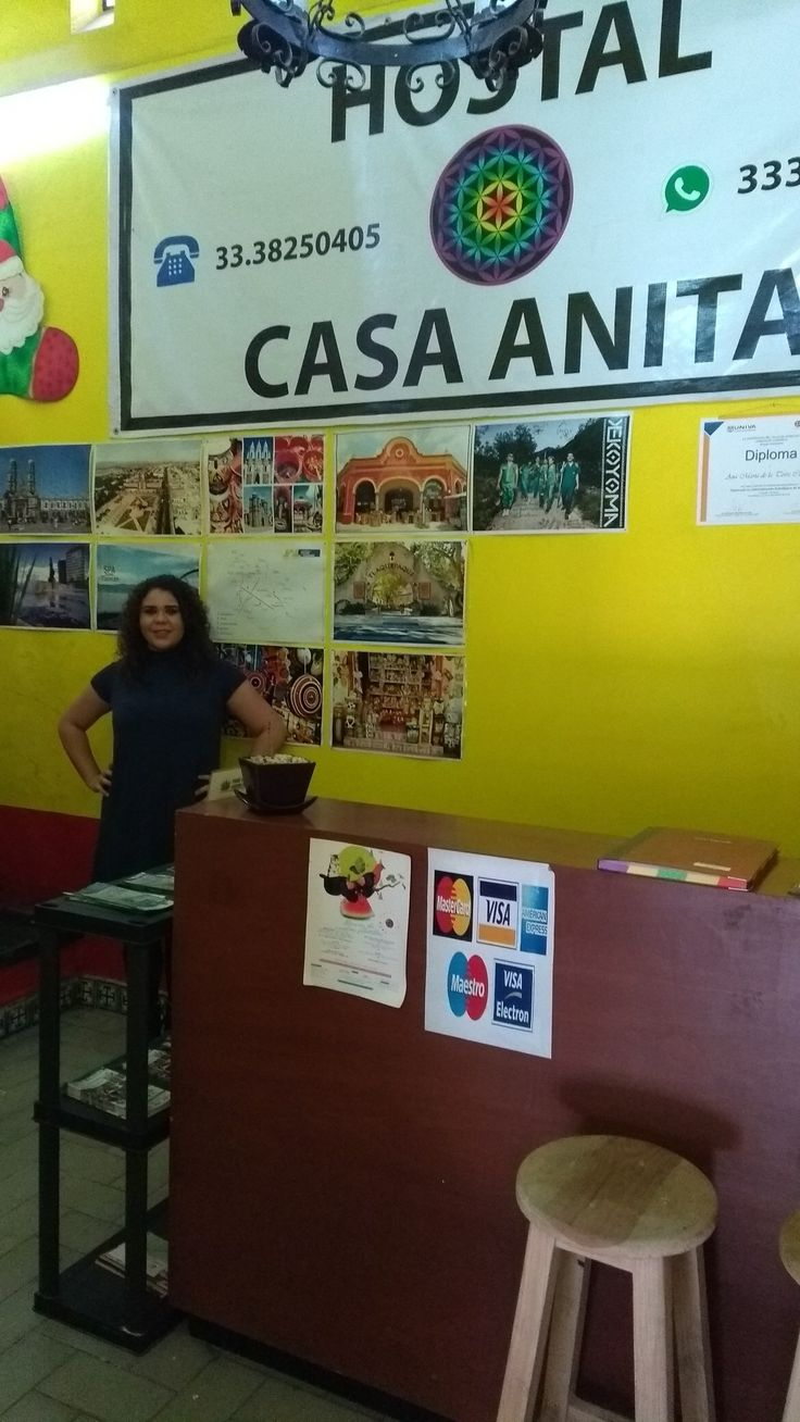 Hostal Casa Anita Guadalajara www.casaanita.com.mx Teléfono:+52.33.38250405