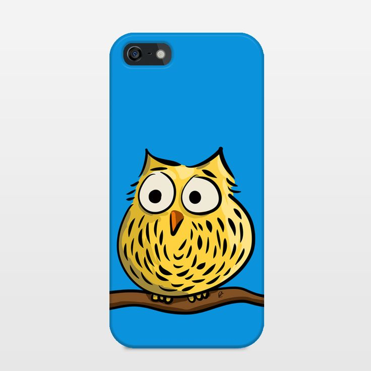 Check out this cute owl Iphone case! Also available as for Galaxy. Design by Richard Eijkenbroek. @ BoomBoomPrints.com! https://www.boomboomprints.com/Product/eijkenbroek/Cute_owl_sitting_on_a_branch/iPhone_Cases/iPhone_5_Slim_Case/