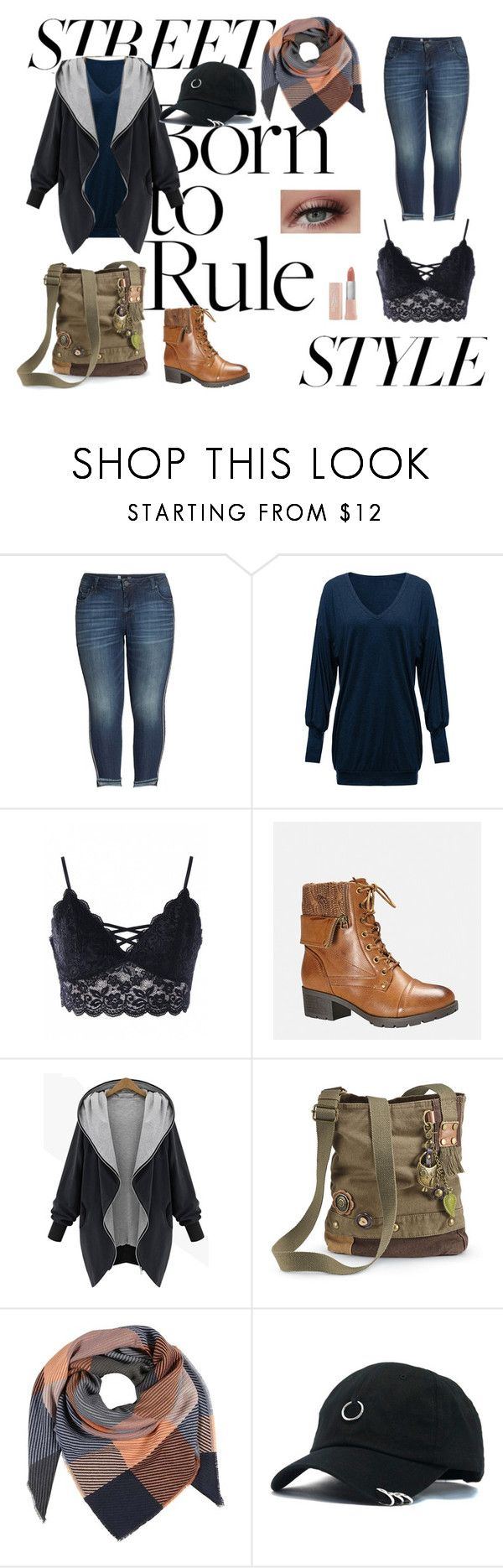 """""""Komb 11#"""" by aldijana-jamakovic ❤ liked on Polyvore featuring KUT from the Kloth, Avenue, Maybelline, contestentry and nyfwstreetstyle"""