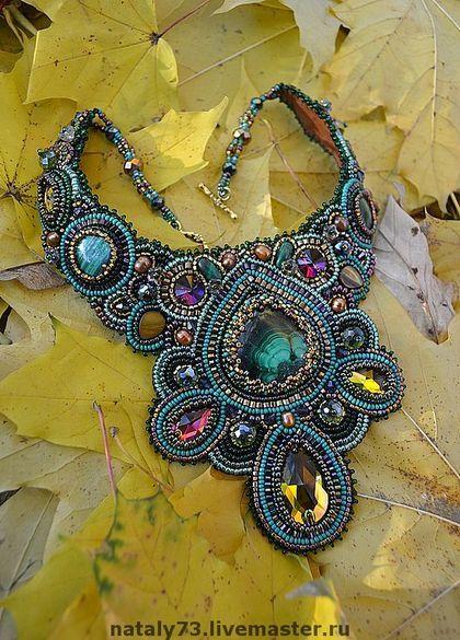 beadwork, necklace, statement, collar, maxi colar, www.lilirodriguez.com