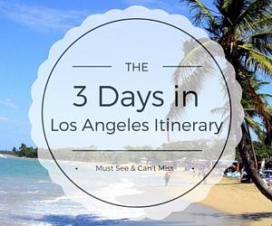 This popular Los Angeles itinerary includes the best things to do during your 3 days in LA. Save on admission