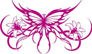 butterfly spyder decal - Google Search