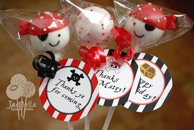 Sweet Bites: Pirate Cake Pops