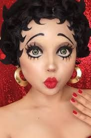 Image result for Betty boop makeup