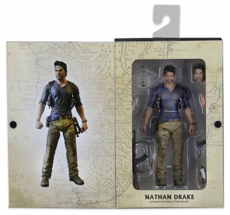 UNCHARTED 4 ULTIMATE NATHAN DRAKE 7 ACTION FIGURE FROM NECA
