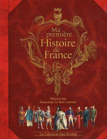 Ma première histoire de France: Amazon.fr: Jérôme Maufras, Jean-Noël Rochut, Neil Wilson, Emmanuelle Etienne, Emmanuel Le Roy Ladurie: Livre...vers 7 ans