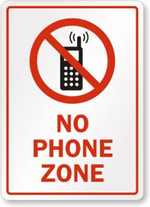 No-Phone-Zone-Sign-S-7318