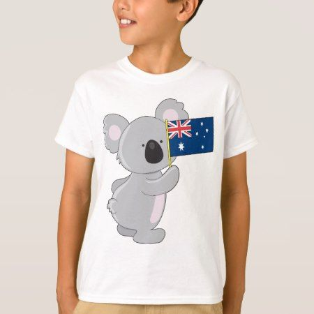 Koala Australian Flag T-Shirt - click to get yours right now!
