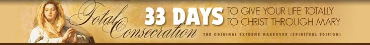 Total Consecration schedule, info, audio prayers, etc.