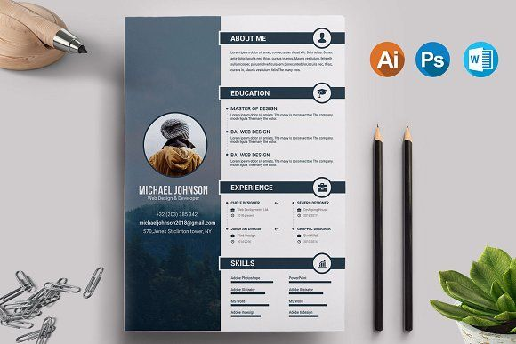 Resume/CV Template  @creativework247