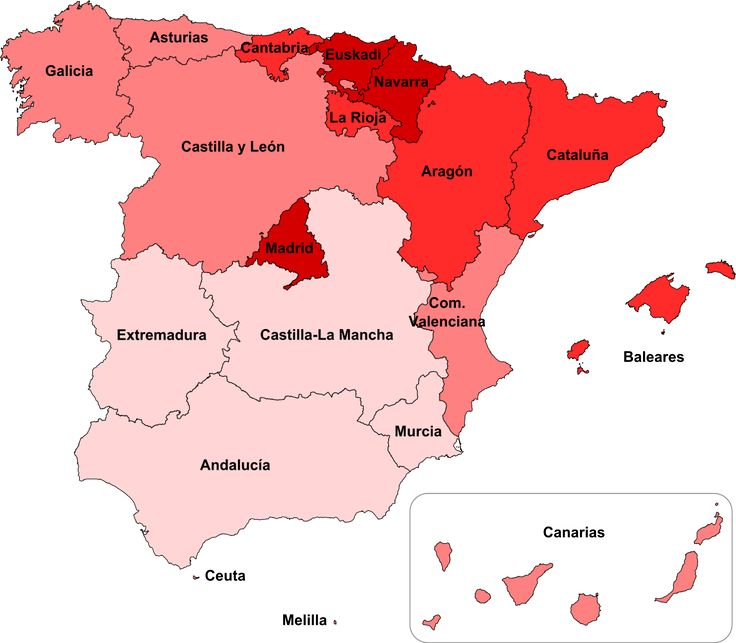 138 best Maps of Spain images on Pinterest  Spain Spanish and