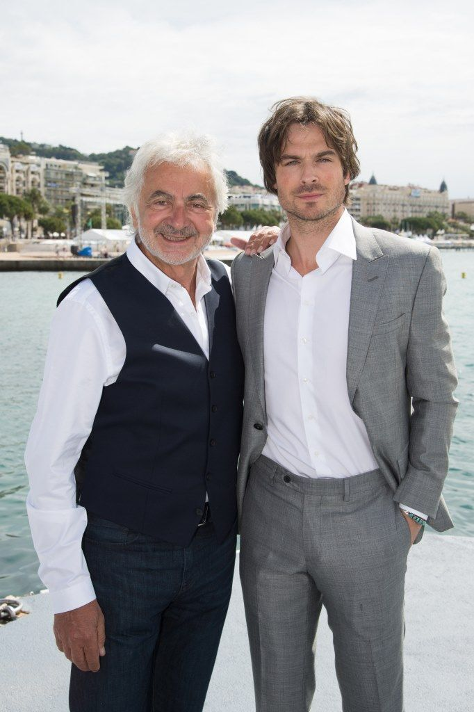 The talented and cute Ian Somerhalder, muse of the new fragrance Azzaro here with Franck Provost! #cannes #cannes2015 #cannesforever #CannesFilmFestival #backstage #selfie #franckprovost #franckprovostparis #frenchriviera #iansomerhalder
