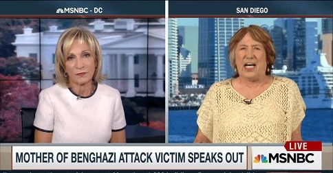 Benghazi victim's mother erupts at Andrea Mitchell: 'My son was sacrificed, and NO ONE has told me WHY!'