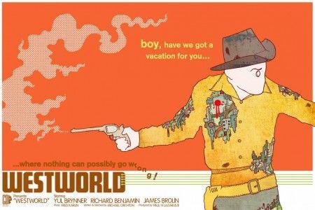 Gareth Barnes – Westworld movie poster | The Little Chimp Society