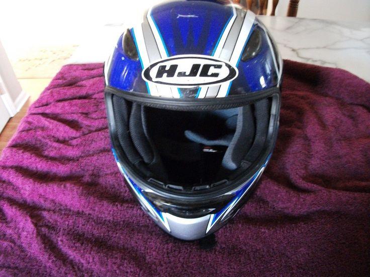 #apparel HJC MOTORCYCLE HELMET SIZE X LARGE please retweet