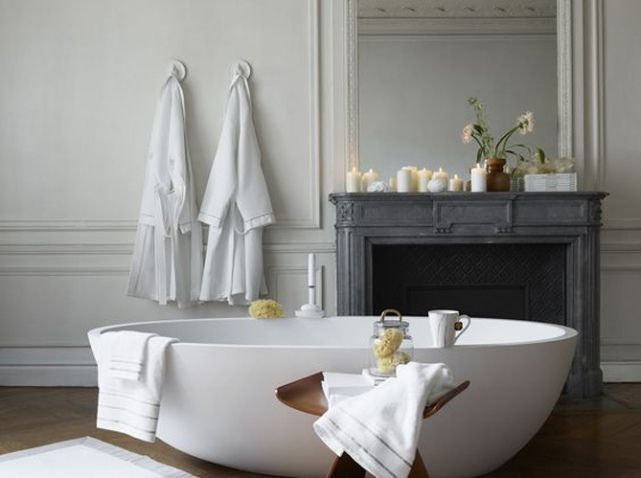 Ambiance zen salle de bains