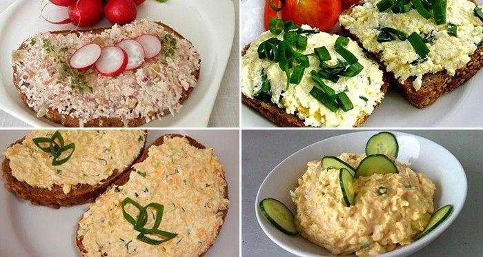 7 skvělých a rychlých receptů na jarní pomazánky