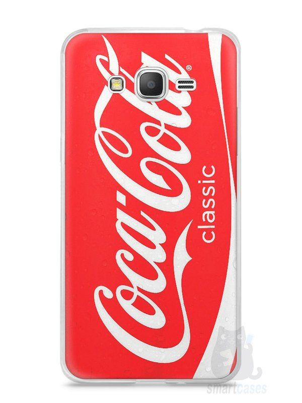Capa Samsung Gran Prime Coca-Cola - SmartCases - Acessórios para celulares e tablets :)