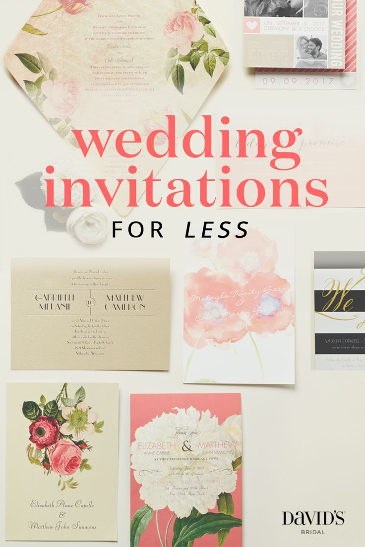 1000  images about wedding invitations by david u0026 39 s bridal on pinterest