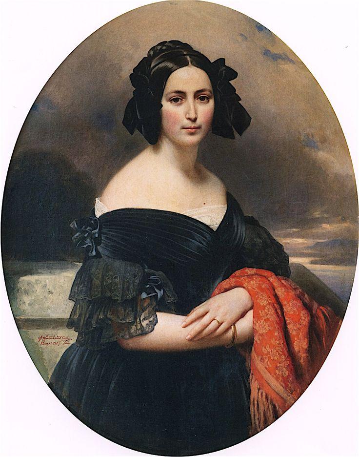Countess Marie Jaubert by Franz Xaver Winterhalter, 1837