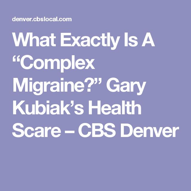 """What Exactly Is A """"Complex Migraine?"""" Gary Kubiak's Health Scare – CBS Denver"""