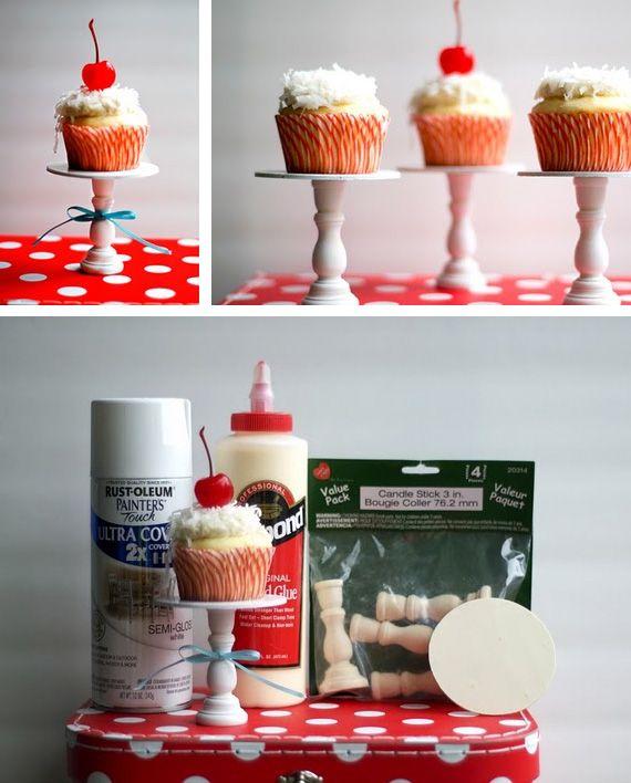 Mini soporte para cupcake