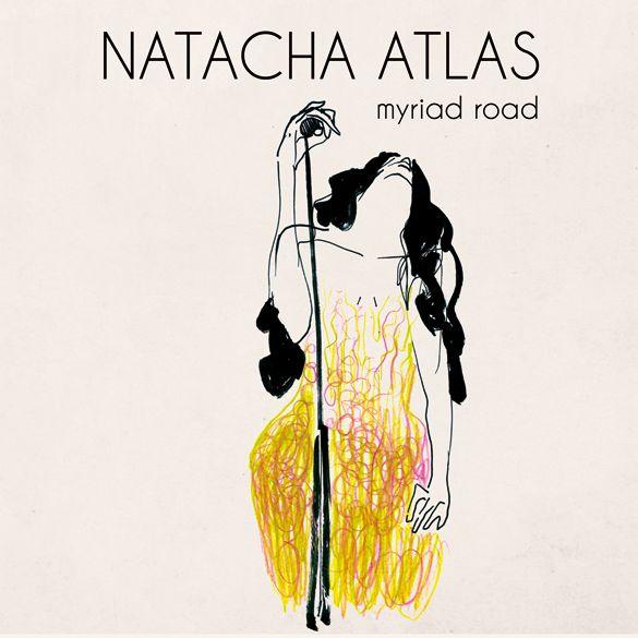 Natacha Atlas & Ibrahim Maalouf couv Myriad Road