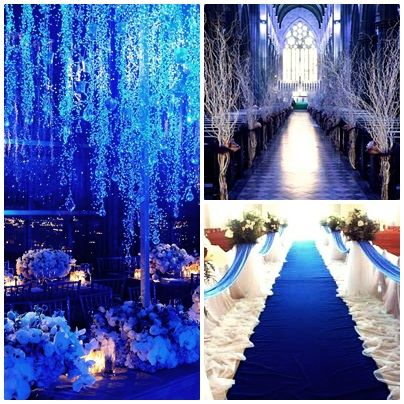 OMG OMG OMG!!! this is how i want my wedding to look like with my sapphire blue…