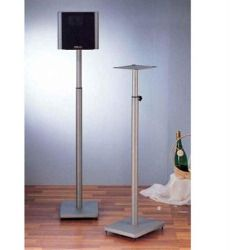 Shopping Tips - Surround Sound Speaker Stand in Grey Silver - Set of 2