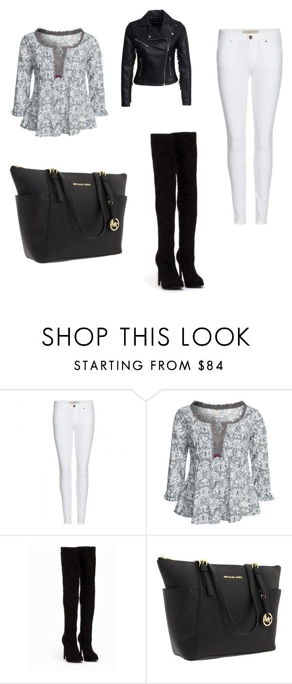 """Untitled #13"" by mariachun on Polyvore featuring Burberry, Odd Molly, Nly Shoes, Michael Kors and New Look"