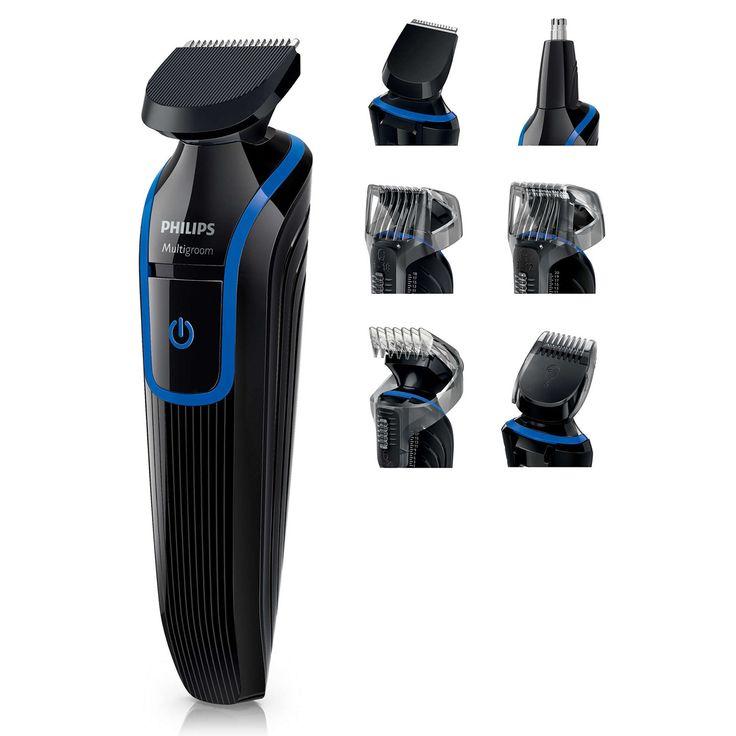 [Havan] Aparador de Barba e Cabelo 7 em 1 Philips Multigroom QG3337 por R$129,90 + FG