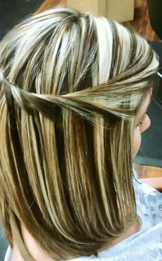 chunky highlights and lowlights long hair - Google Search
