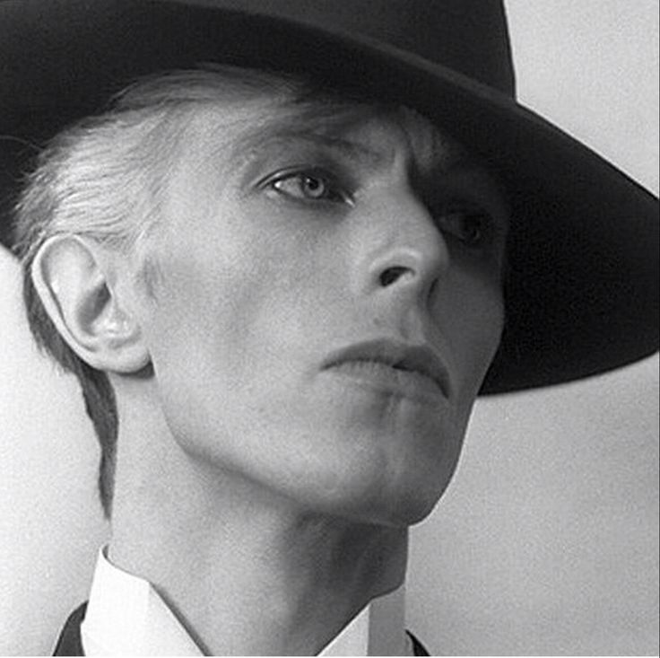 David Bowie, The Thin White Duke.