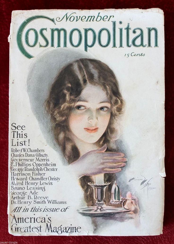 Cosmopolitan Magazine, NOVEMBER 1912 Artist: Harrison