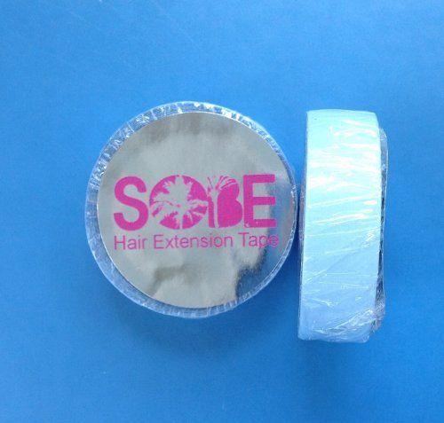 """Blue 1/2"""" x 36"""" or 3 yds Lace Front Tape Roll by SOBE Organics by Sobe Organics. $19.99. 1/2"""" blue lace tape roll. Do it Yourself and Easy to Apply. No Heat Superhold Tape Extensions. toupee tape, wig tape, extension tape!. Lace front blue lace tape roll. Our wig and extension tape was rated the best in the industry!  We offer over 50 different shapes and sizes.  You may use with wigs, hairpieces, toupees or extensions!"""