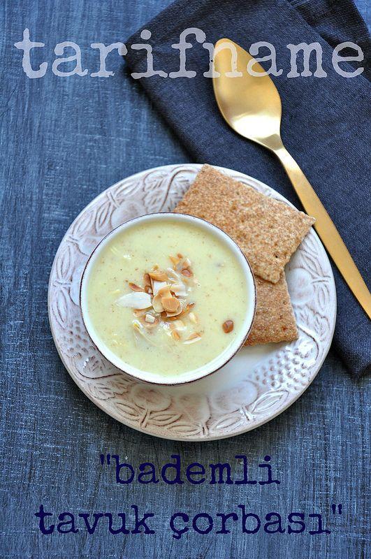 Post image for Safranlı ve Bademli Tavuk Çorbası