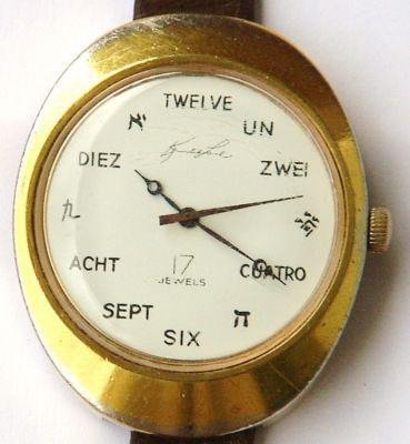 reloj super original