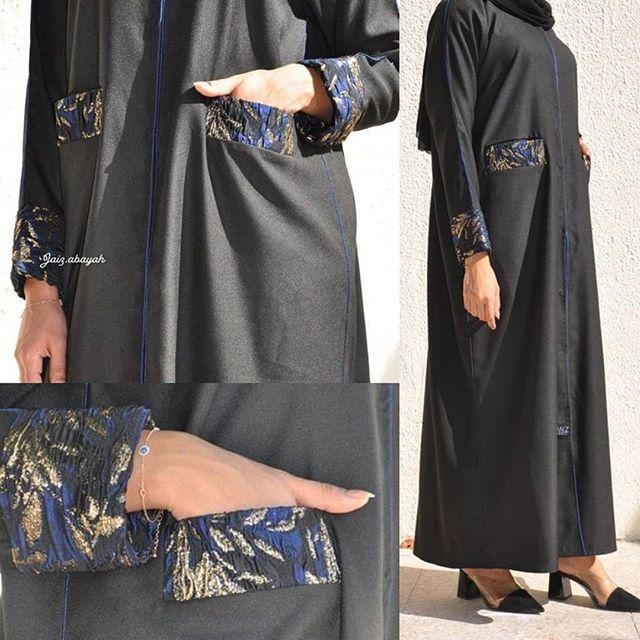 Repost Jaiz Abaya عبايه قطعتها كريب جميله و مريحه فاللبس سعرها 380 درهم تفصيل فقط Creb Material 380 Dirhams Only Fashion Abaya Designs Abaya Dubai