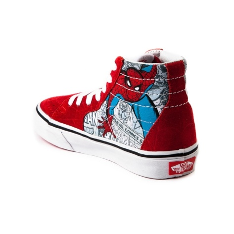 Spiderman Shoes Vans